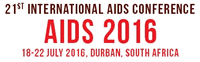 21st International AIDS Conference (AIDS 2016) - 18-22 JULY - DURBAN, SOUTH AFRICA - www.aids2016.org