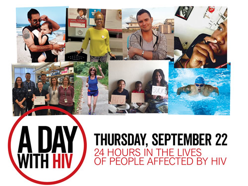 A DAY WITH HIV - September 22, 2016 - www.adaywiththiv.com
