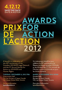 AWARDS FOR ACTION 2012