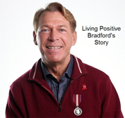 Photo: Video Interview, Bradford McIntyre: Living Positive Bradford's Story, The 30 30 Campaign.