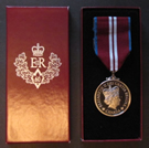 Queen Elizabeth II Diamond Jubilee Medal - Recipient Bradford McIntyre - November 27, 2012