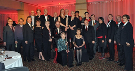 Recipients of the Queen Elizabeth II Diamond Jubilee Medal for exceleence in the field of HIV/AIDS in Canada