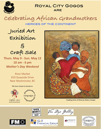 Celebrating African Grandmothers Juried Art Exhibit and Craft Sale - www.royalcitygogos.org