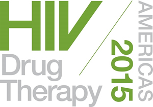 Logo: HIV Drug Therapy in the Americas 2015 - www.hivamericas.org