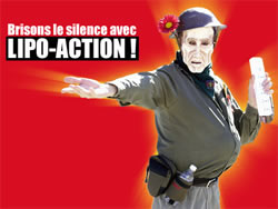 Video Poster: Brisons le silence avec LIPO-ACTION!