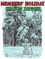 Members' Holiday season Dinner - December 3 - 6 pm to 9 pm - Law Courts Inn - positivelivingbc.org