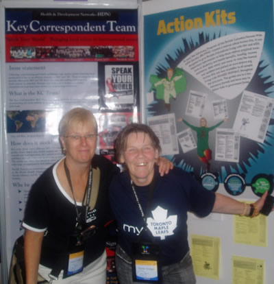 AIDS 2006: Cheryl Colborne & Suzan Krieger - Poster Exhibition - Action Kits