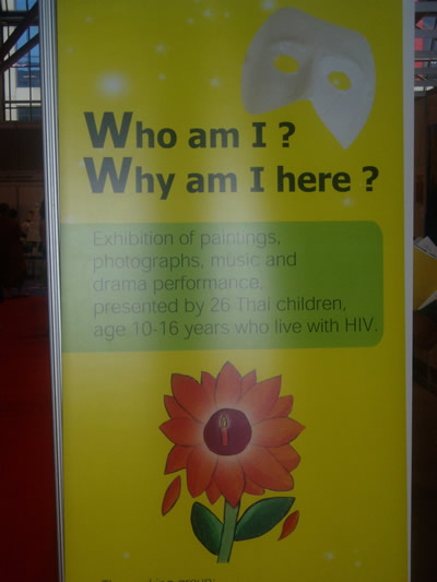 AIDS 2006: Exhibition in Global Villiage