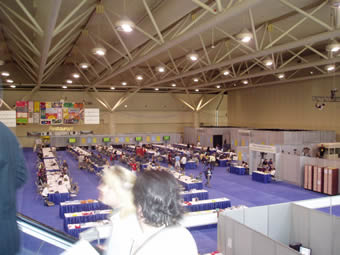 Media and Broadcast Centre at AIDS 2006 - Over 2,500 international journalists.