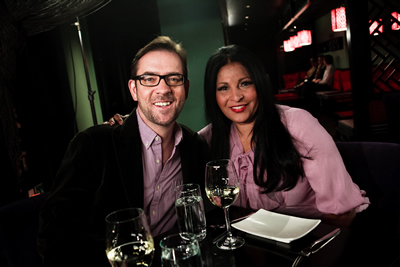 Photo: Ted Allen and Pam Grier. Photo Credit: Huter Willis