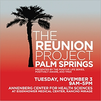 POSTER: THE REUNION PROJECT - PALM SPRINGS - NOOvember 3, 2015 - 9AM - 5PM - Ranco Mirage.