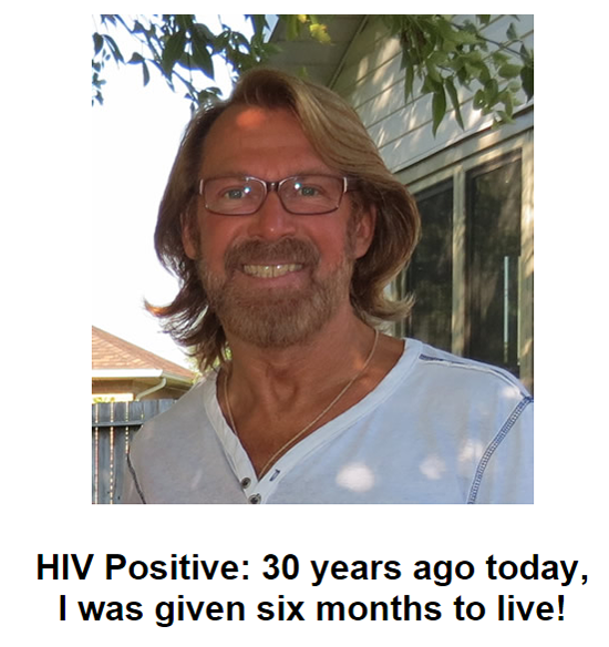 Photo: Bradford McIntyre, HIV Positive: 30 years ago today, I was given six months to live