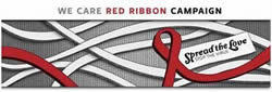 We Care Red Ribbon Campaign