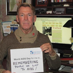 Photo: Bradford McIntyre - International AIDS Society Member - World AIDS Day for me is... Campaign