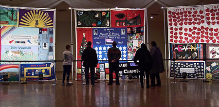 Photo: World AIDS AIDS DAY - Memorial Quilt