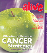 Cover: ALIVE - Canada's #1 Journal of Health & Nutrition - www.alive.com