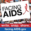 Facing AIDS Badge: FACING AIDS - facing.aids.gov