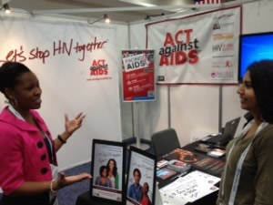 Let's Stop HIV Together and Facing AIDS at AIDS 2012